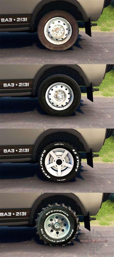VAZ Niva 2131 für Spin Tires