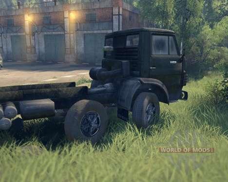 KamAZ 6540 pour Spin Tires