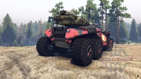 Beast skin 8 pour Spin Tires