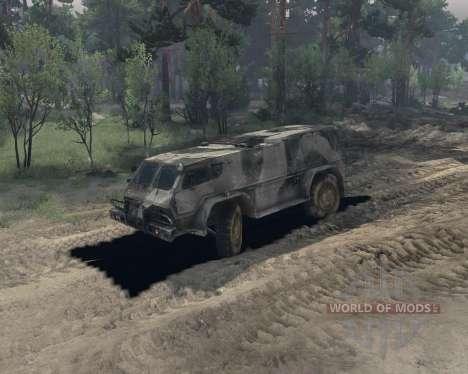 GAZ-3937 für Spin Tires