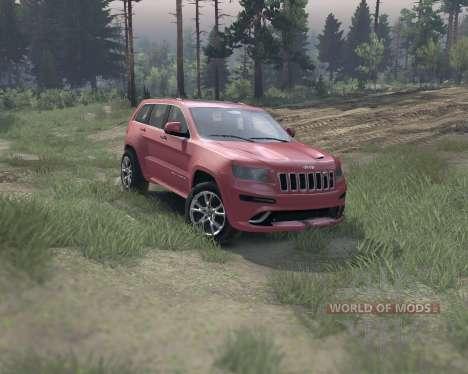 Jeep Grand Cherokee SRT8 für Spin Tires
