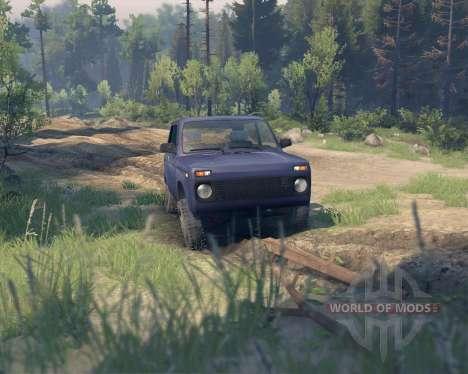 VAZ 21213 Niva pour Spin Tires