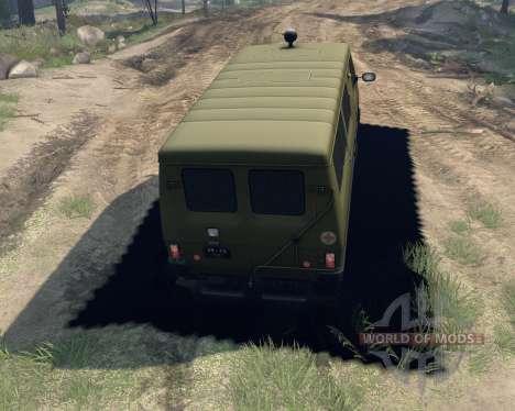 UAZ-3972 für Spin Tires