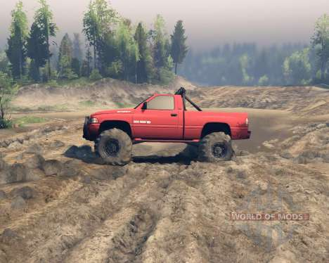Dodge Ram 1500 pour Spin Tires