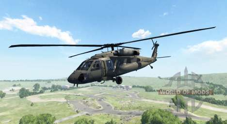 Sikorsky UH-60 Black Hawk pour BeamNG Drive