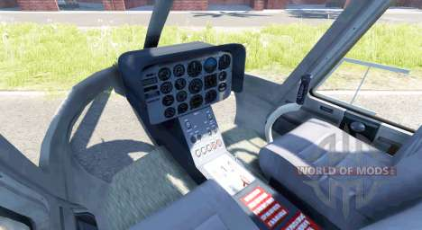 Bell 407 pour BeamNG Drive