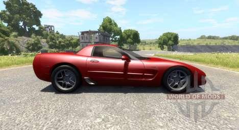 Chevrolet Corvette C5 für BeamNG Drive