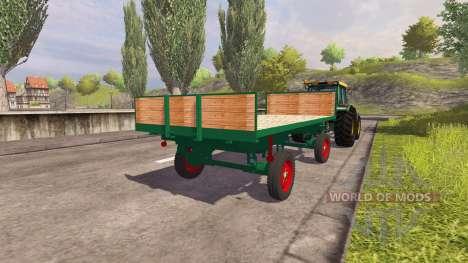 Trailer für Ballen für Farming Simulator 2013