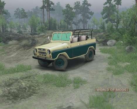 UAZ 469 pour Spin Tires