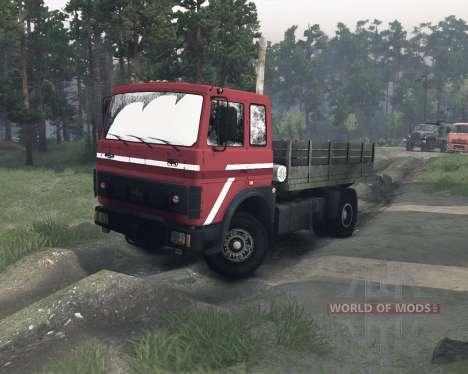 MAZ-54322 für Spin Tires