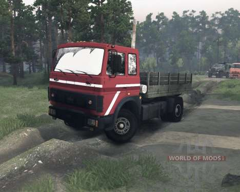 MAZ-54322 pour Spin Tires