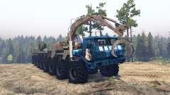 KrAZ 7E 6316 Trans-Sibérie v1.1