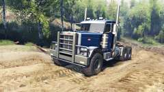 Peterbilt 379 v1.1 dark blue