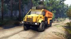 KrAZ-6322 v3.0 gelb