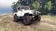 Jeep YJ 1987 white