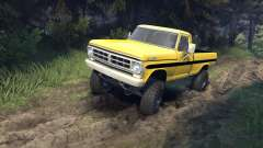 Ford F-200 1968 yellow