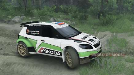 Skoda Fabia S2000 pour Spin Tires