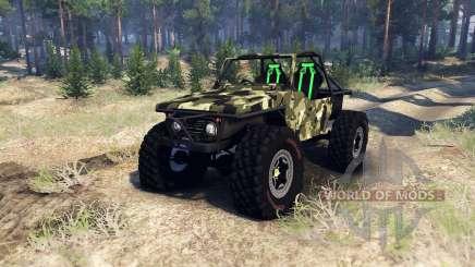 Suzuki Samurai Crawler für Spin Tires