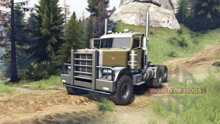 Peterbilt 379 v1.1 green für Spin Tires