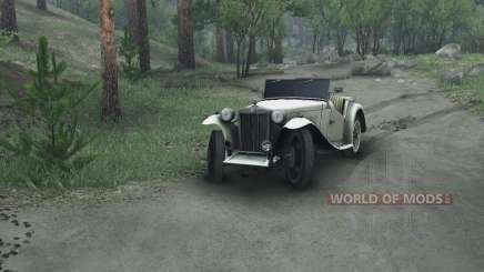 MG TC Midget 48 pour Spin Tires
