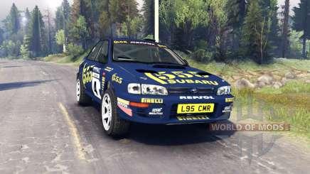 Subaru Impreza pour Spin Tires