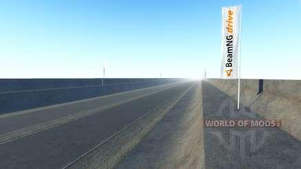 Sans fin de l'autoroute pour BeamNG Drive