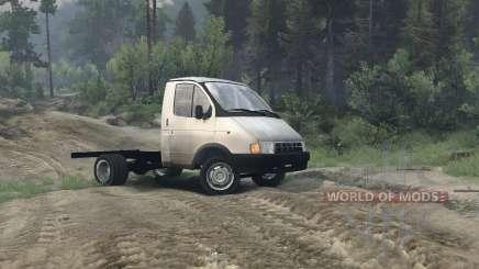 Gazelle 3302 für Spin Tires