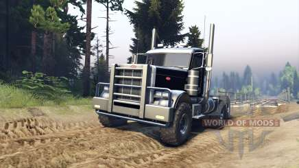 Peterbilt 379 v1.1 black pour Spin Tires