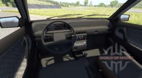 ВАЗ-21099 Black Edition für BeamNG Drive