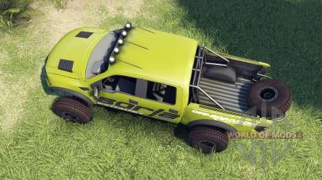Ford Raptor Pre-Runner v1.1 borla für Spin Tires