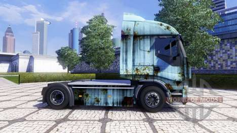 La peau de Rouille sur le tracteur Iveco Stralis pour Euro Truck Simulator 2