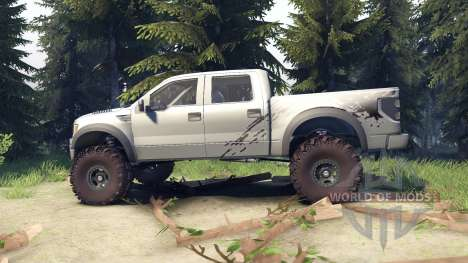 Ford Raptor SVT v1.2 factory ignot silver für Spin Tires