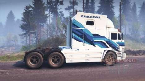 KamAZ-54112 RIAT pour Spin Tires