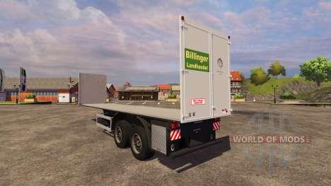 Schmitz Bale für Farming Simulator 2013