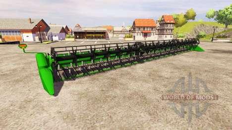 John Deere 650FD v1.1 pour Farming Simulator 2013