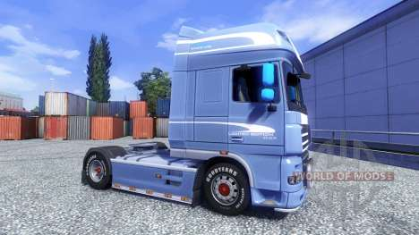 DAF XF 105 Blue Edition pour Euro Truck Simulator 2
