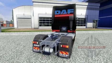 La peau Stocker Transporte pour DAF XF tracteur pour Euro Truck Simulator 2