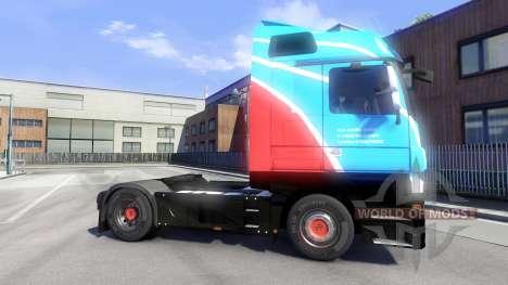 Haut Ihro Jumbo GmbH auf dem Traktor Majestic für Euro Truck Simulator 2