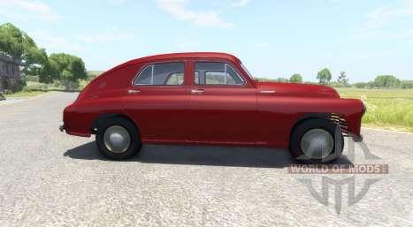GAZ-M-20-Sieg für BeamNG Drive