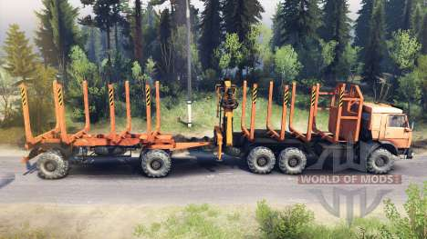 KamAZ-44108 für Spin Tires