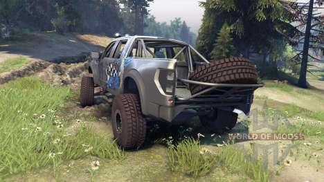 Ford Raptor Pre-Runner monster pour Spin Tires