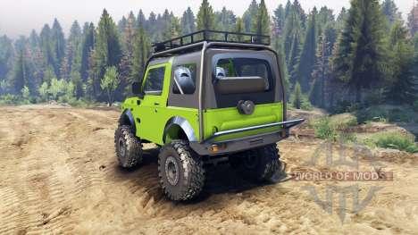 Suzuki Samurai Extreme v1.5 pour Spin Tires