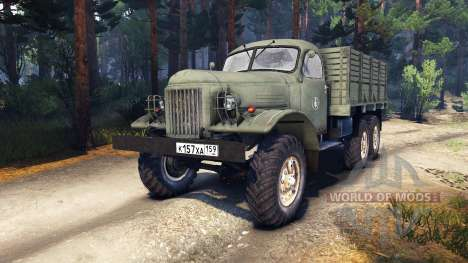 ZIL-157 Hommes pour Spin Tires