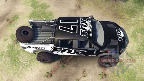 Ford Raptor Pre-Runner v1.1 fox für Spin Tires