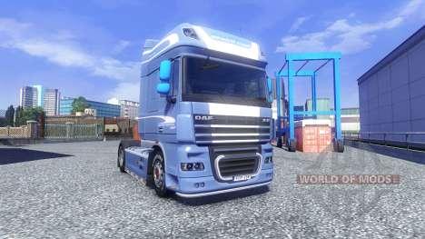 DAF XF 105 Blue Edition für Euro Truck Simulator 2