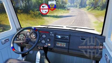 GAZ-SAZ-2506 pour Spin Tires