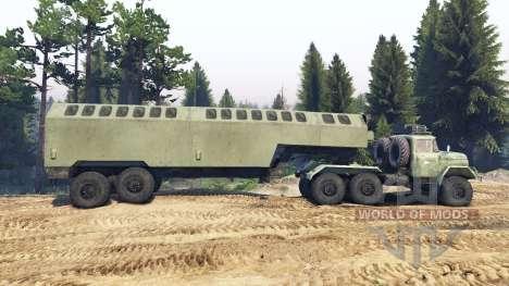 ЗиЛ-137 trailer kung für Spin Tires