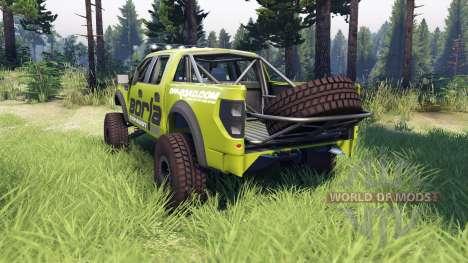 Ford Raptor Pre-Runner v1.1 borla pour Spin Tires