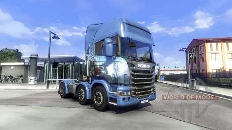 Nouveau châssis pour tous les camions pour Euro Truck Simulator 2