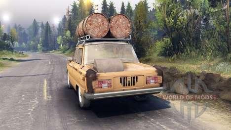 ZAZ-968 m v0.1 pour Spin Tires